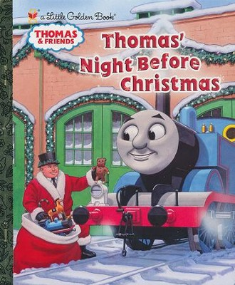 Thomas' Night Before Christmas  -     By: R. Schuyler Hooke     Illustrated By: Richard Courtney