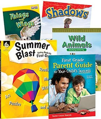 Learn-at-Home STEM Bundle with Parent Guide, Grade 1   -