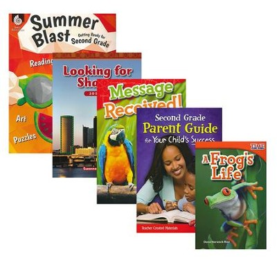 Learn-at-Home STEM Bundle with Parent Guide, Grade 2   -