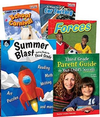 Learn-at-Home STEM Bundle with Parent Guide, Grade 3   -
