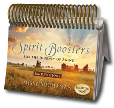 Spirit Boosters for the Journey of Aging: 366 Devotions  -