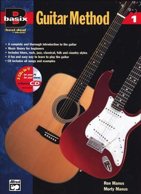 Basix &#153 Guitar Method, Book 1, Book & Compact Disc   -