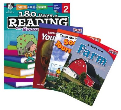 Learn-at-Home Reading Bundle, Grade 2   -