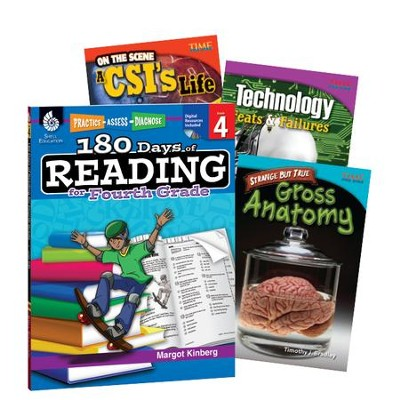 Learn-at-Home Reading Bundle, Grade 4   -