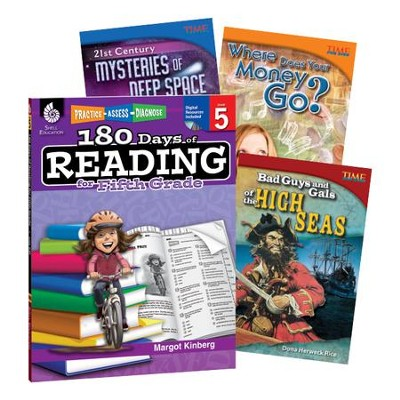 Learn-at-Home Reading Bundle, Grade 5   -