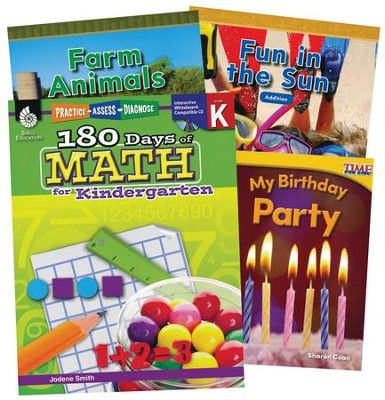Learn-at-Home Math Bundle, Grade K   -