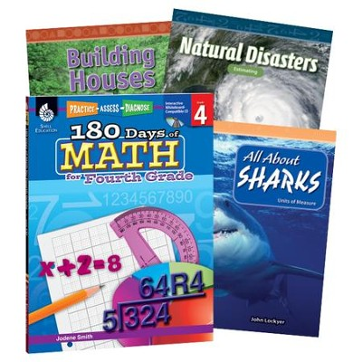 Learn-at-Home Math Bundle, Grade 4   -