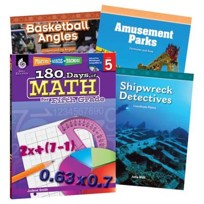 Learn-at-Home Math Bundle, Grade 5   -