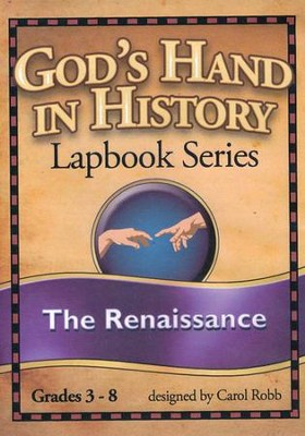 God's Hand in History Lapbook Series: The Renaissance PDF  CD-ROM  -     By: Carol Robb