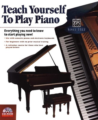 Teach Yourself to Play Piano on CD-ROM   -     By: Software