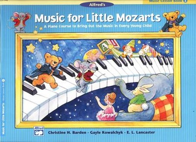 Music for Little Mozarts, Music Lesson Book 3   -     By: Christine H. Barden