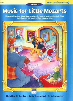 Music for Little Mozarts, Music Discovery Book 3   -     By: Christine H. Barden