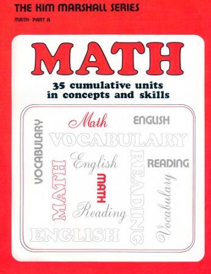 Math Part A Student Book  -