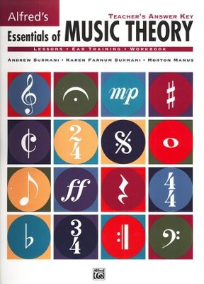 Essentials of Music Theory, Teacher's Answer Key, Books 1-3   -     By: Andrew Surmani