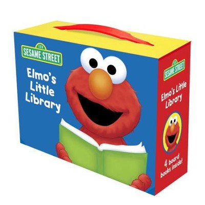 Elmo's Little Library (Sesame Street)  -     By: Sarah Albee, Constance Allen, Deborah November     Illustrated By: Maggie Swanson, Tom Leigh