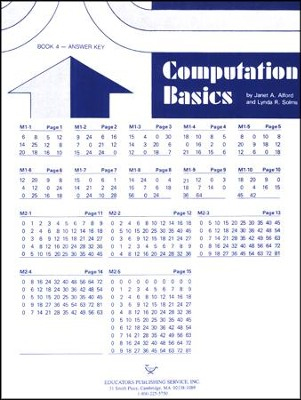 Computation Basics 4 Key  -