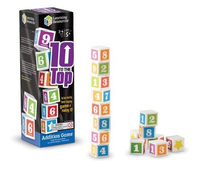 10 To the Top Addition Game  -