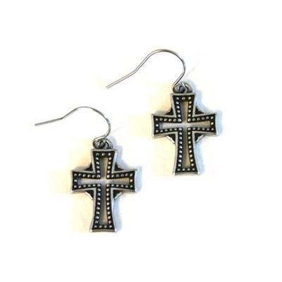 Celtic Cross Earring  -