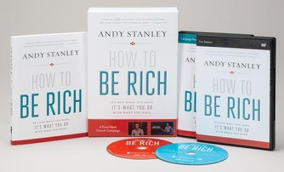 How to Be Rich Church Campaign Kit: It's Not What You Have. It's What You Do With What You Have.  -     By: Andy Stanley