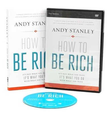 How to Be Rich book with DVD: It's Not What You Have. It's What You Do With What You Have.  -     By: Andy Stanley
