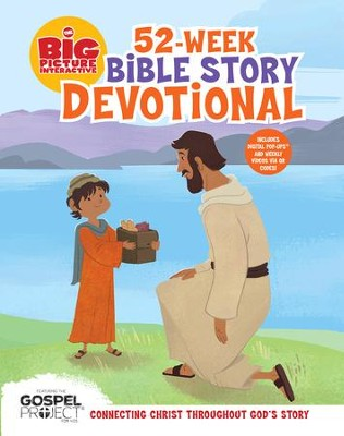 The Big Picture Interactive 52-Week Bible Story Devotional: Connecting Christ Throughout God's Story - eBook  -