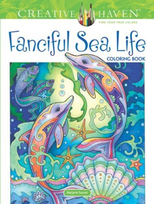 Fanciful Sea Life Coloring Book  -     By: Marjorie Sarnat