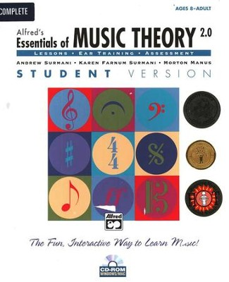 Essentials of Music Theory CD-Rom Student Version 2 Complete Volume 1-3 Package  -