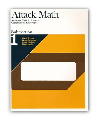 Attack Math: Subtraction 1   -