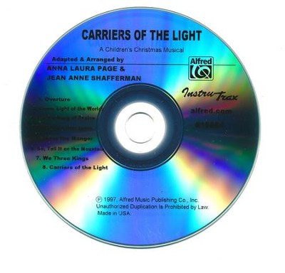 Carriers of the Light- A Children's Christmas Musical,   -     By: Anna Laura Page, Jean Anne Shafferman