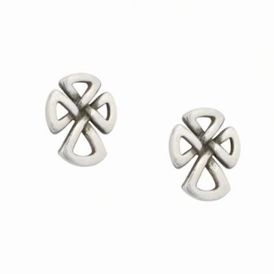 513b610b2 Sterling Silver Celtic Cross Earrings: Bob Siemon - Christianbook.com