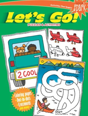 Let's Go! Puzzles & Activities  -     By: Fran Newman-D'Amico
