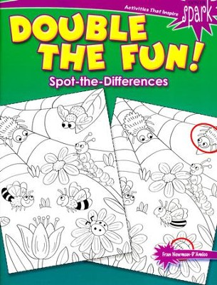 Double the Fun! Spot-the-Differences  -     By: Fran Newman-D'Amico