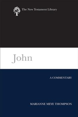 John: A Commentary - eBook  -     By: Marianne Meye Thompson