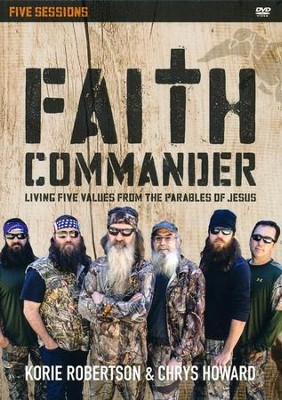 Faith Commander: A DVD Study: Learning 5 Family Values from the Parables of Jesus  -     By: Korie Robertson, Chrys Howard