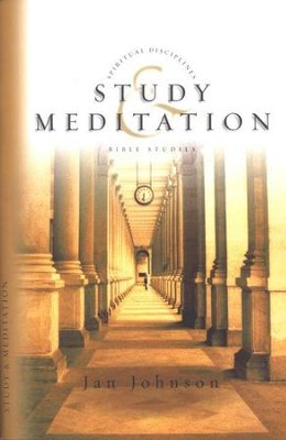 Study & Meditation, Spiritual Disciplines Bible Studies  -     By: Jan Johnson