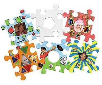 Picture Frame Puzzle Pieces (Package of 24)   -