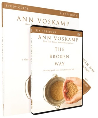The Broken Way, Study Guide with DVD   -     By: Ann Voskamp