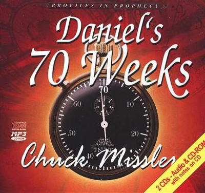 Daniels 70 Weeks Brief Kt/CD References & Diagrams 2 CDS  -     By: Chuck Missler