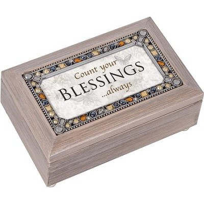 Count Your Blessings...Always, Jeweled Music Box  -