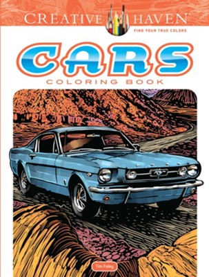 Cars Coloring Book  -     By: Tim Foley