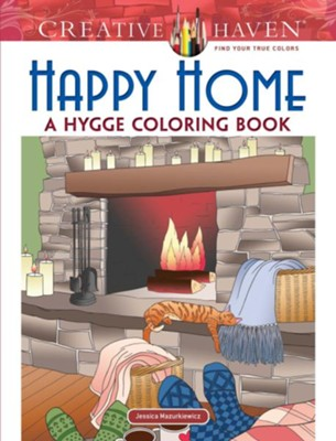 Happy Home Coloring Book  -     By: Jessica Mazurkiewicz