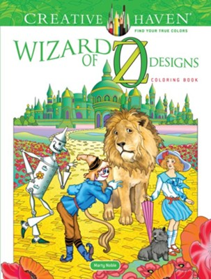 Wizard of Oz Designs Coloring Book  -     By: Marty Noble