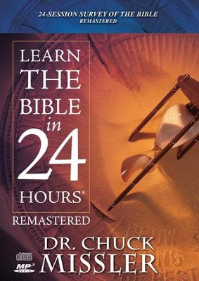 Learn the Bible - MP3-CD-ROM  -     By: Chuck Missler