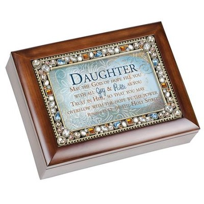 Daughter, May the God of Hope Fill You, Music Box  -