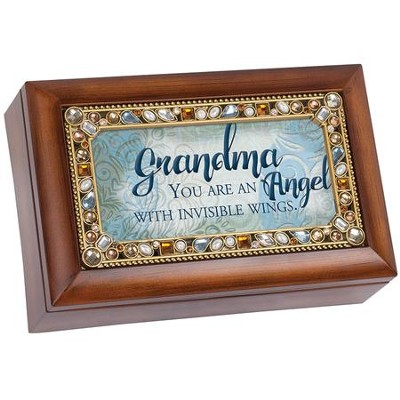 Grandma, You Are an Angel With Invisible Wings, Music Box  -