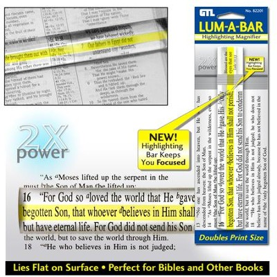 Lum-A-Bar Highlighting Magnifier   -