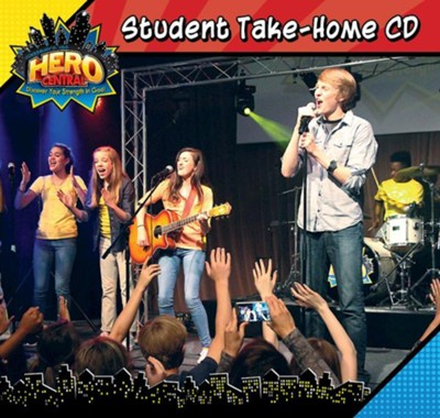 VBS 2017 Hero Central: Discover Your Strength in God! - Student Take-Home CD  -