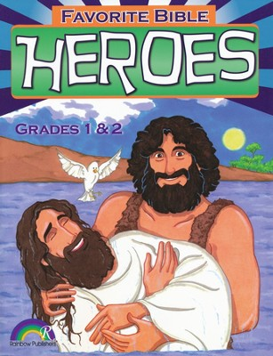 Favorite Bible Heroes, Grades 1-2  -