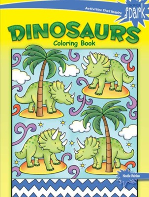 Dinosaurs Coloring Book  -     By: Noelle Dahlen