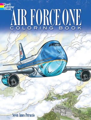 Air Force One Coloring Book  -     By: Steven James Petruccio